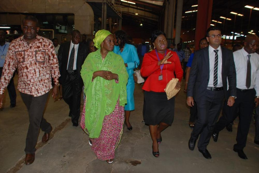 Minister of state for trade, industry and investment visit to Nobel carpets-BELLANAIJA0006