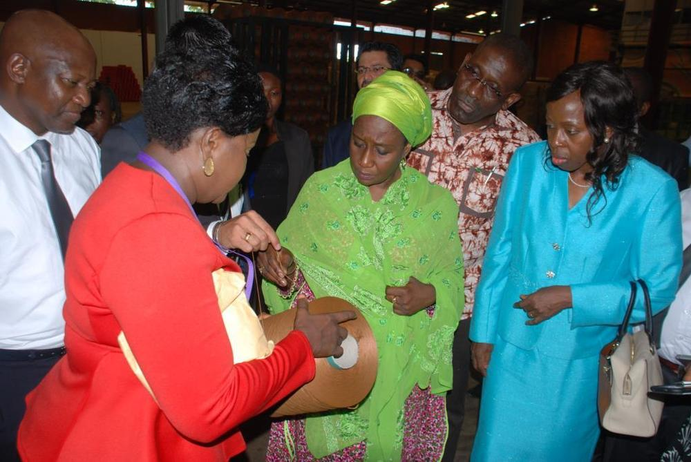 Minister of state for trade, industry and investment visit to Nobel carpets-BELLANAIJA0008
