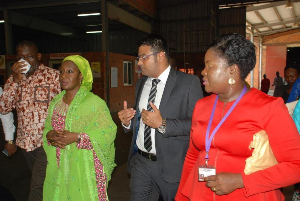 Minister of state for trade, industry and investment visit to Nobel carpets-BELLANAIJA0015