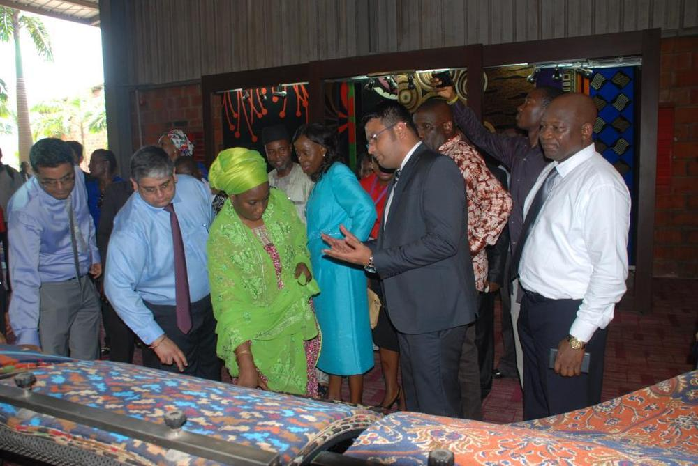Minister of state for trade, industry and investment visit to Nobel carpets-BELLANAIJA0023