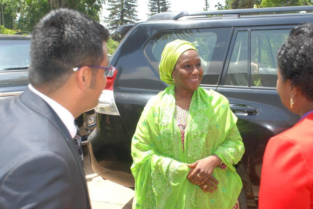 Minister of state for trade, industry and investment visit to Nobel carpets-BELLANAIJA0024