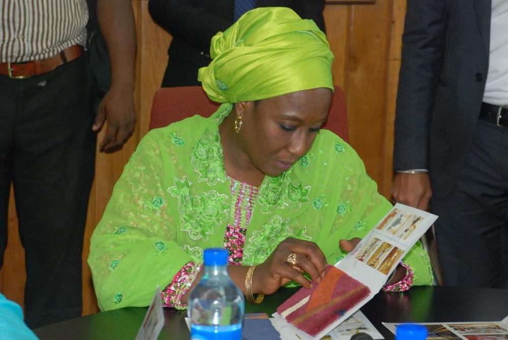 Minister of state for trade, industry and investment visit to Nobel carpets-BELLANAIJA0027