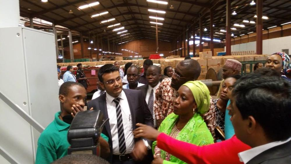 Minister of state for trade, industry and investment visit to Nobel carpets-BELLANAIJA0029