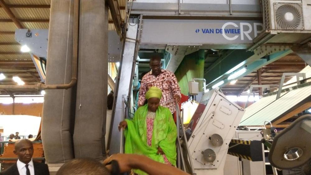 Minister of state for trade, industry and investment visit to Nobel carpets-BELLANAIJA0031