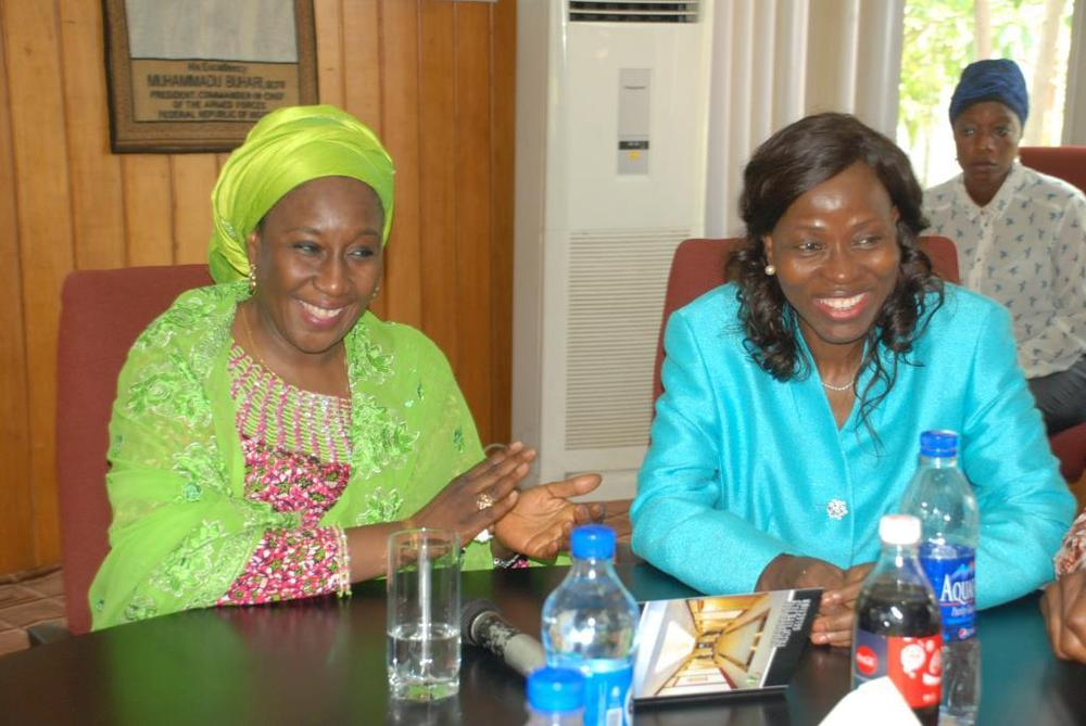 Minister of state for trade, industry and investment visit to Nobel carpets-BELLANAIJA0034