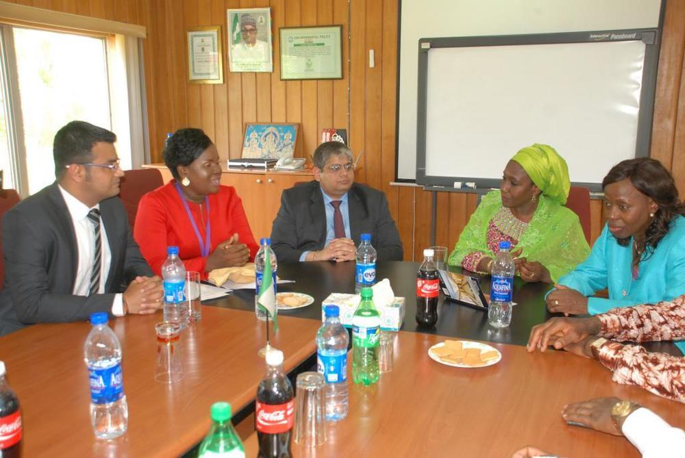 Minister of state for trade, industry and investment visit to Nobel carpets-BELLANAIJA0035
