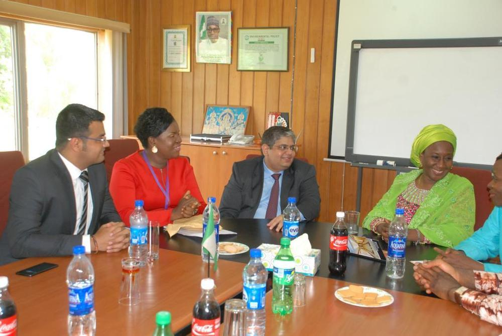 Minister of state for trade, industry and investment visit to Nobel carpets-BELLANAIJA0036