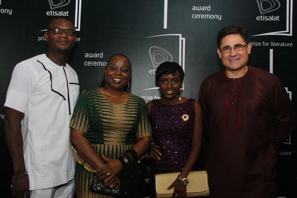 Modupe Kuti Winner of the 2015 Etisalat Prize for Literature Flash Fiction Category IMG_3499