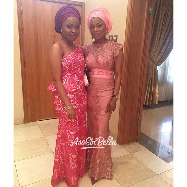 Mother and Daughter @shols_c dressed in @funkeadepoju