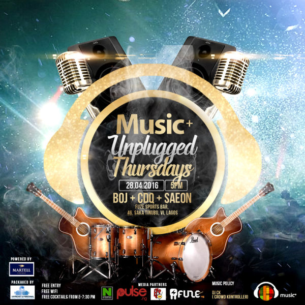 Music+ Unplugged Thursday Media Partners Only (28th-04)