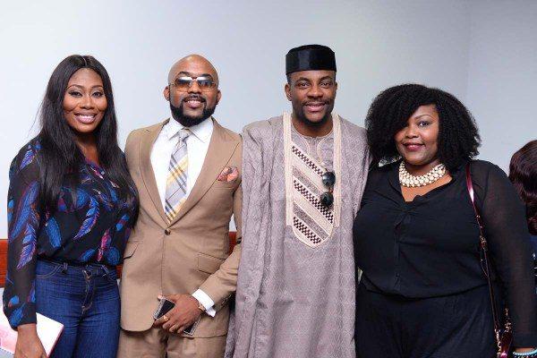 Gbemi Olateru-Olagbegi, Banky W, Ebuka Obi-Uchendu & Wana Udobang