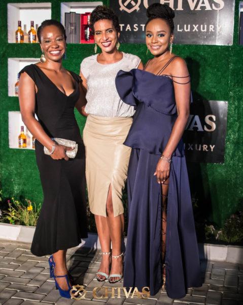 Najite Dede, Yetunde Babaeko & Michelle Dede