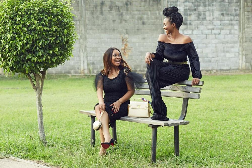 ON SCREEN DIVAS - Inidima Okojie & Mimi Onalaja 2