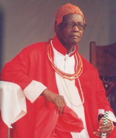 Oba of Benin Erediauwa