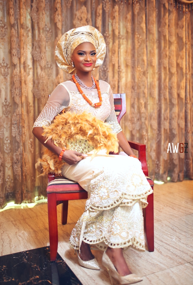 Oghogho and Farouk_Urhobo and Yoruba_Lagos Nigeria Outdoor Wedding_BellaNaija Weddings 2016__trad (28)