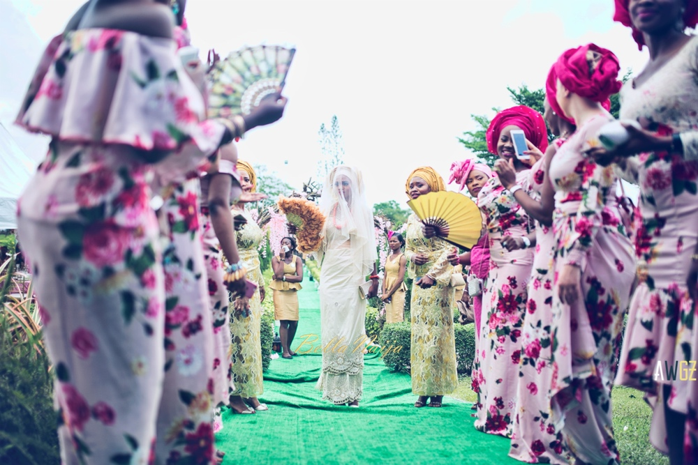 Oghogho and Farouk_Urhobo and Yoruba_Lagos Nigeria Outdoor Wedding_BellaNaija Weddings 2016__trad (55)