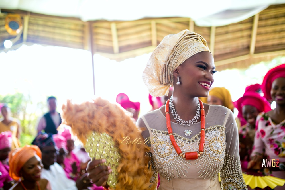 Oghogho and Farouk_Urhobo and Yoruba_Lagos Nigeria Outdoor Wedding_BellaNaija Weddings 2016__trad (59)
