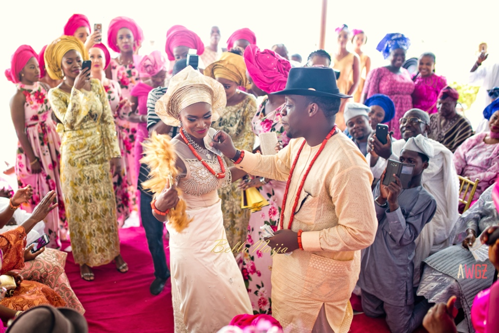Oghogho and Farouk_Urhobo and Yoruba_Lagos Nigeria Outdoor Wedding_BellaNaija Weddings 2016__trad (60)