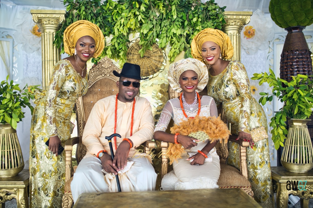 Oghogho and Farouk_Urhobo and Yoruba_Lagos Nigeria Outdoor Wedding_BellaNaija Weddings 2016__trad (62)