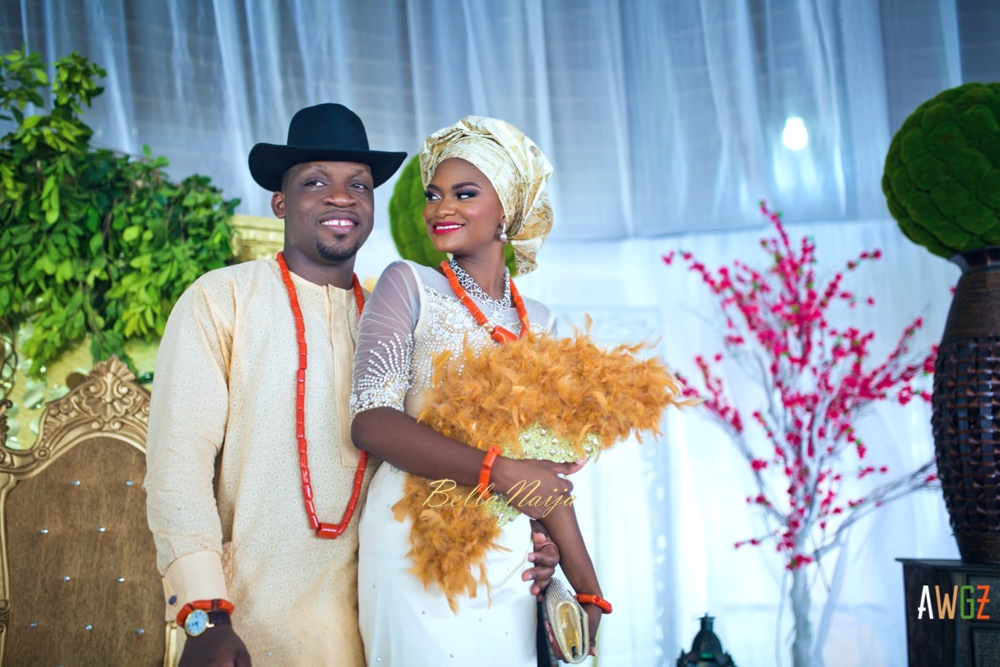 Oghogho and Farouk_Urhobo and Yoruba_Lagos Nigeria Outdoor Wedding_BellaNaija Weddings 2016__trad (64)