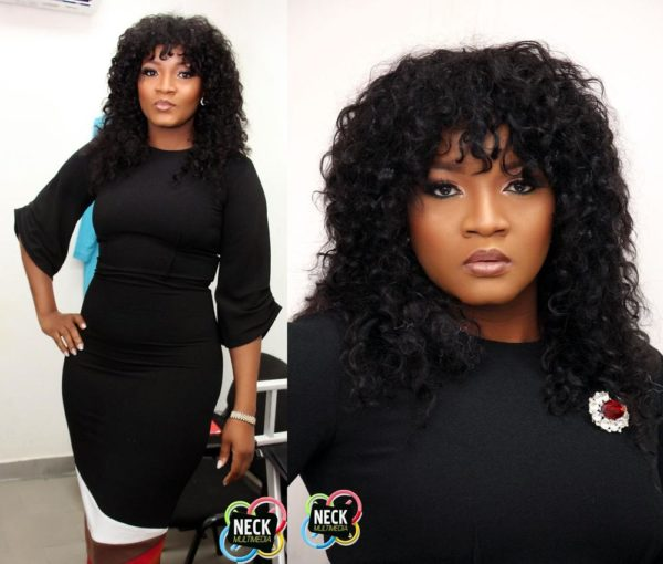 """nigeria actress Omotola Jalade-Ekeinde's Flawless Look for EbonyLife TV and First Bank's """"First Stars"""" Reality Show"""