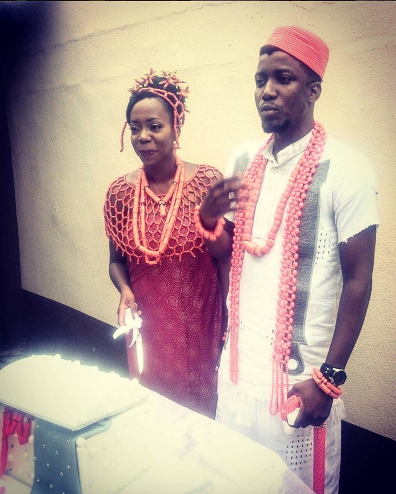 Osa Seven and Nigerian Graffiti Artist Osagie Osarenkhoe Wedding_April 2016__9