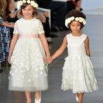 NEW YORK, NY - APRIL 15:  Models walk the runway at Oscar De La Renta Bridal Spring/Summer 2017 Runway Show at Oscar de la Renta Boutique on April 15, 2016 in New York City.  (Photo by Slaven Vlasic/Getty Images)