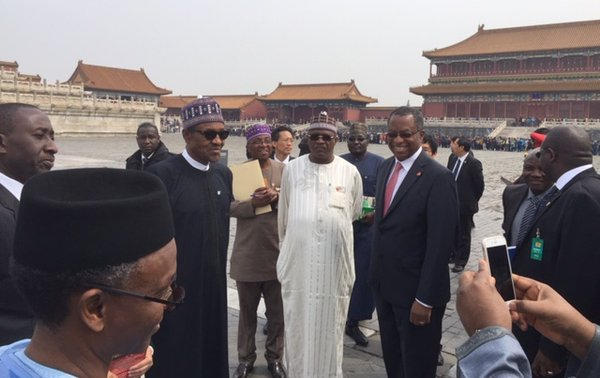 PMB within the Forbidden City in the centre of Beijing