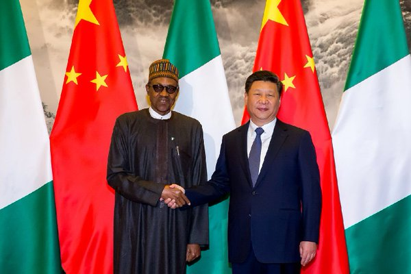 President Buhari establishment of Technical Committees to finalize discussions on the new China/Nigeria joint projects bordering on railway, power, agriculture, manufacturing, and solid minerals.