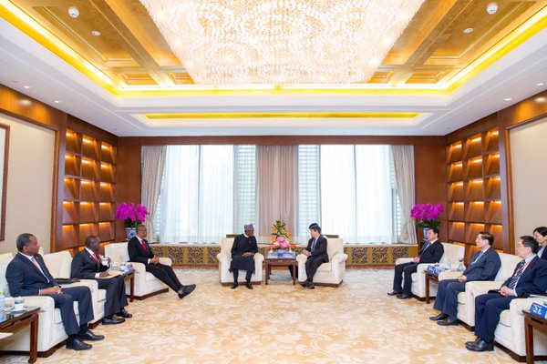 PMB hold talks with Chinese Officials