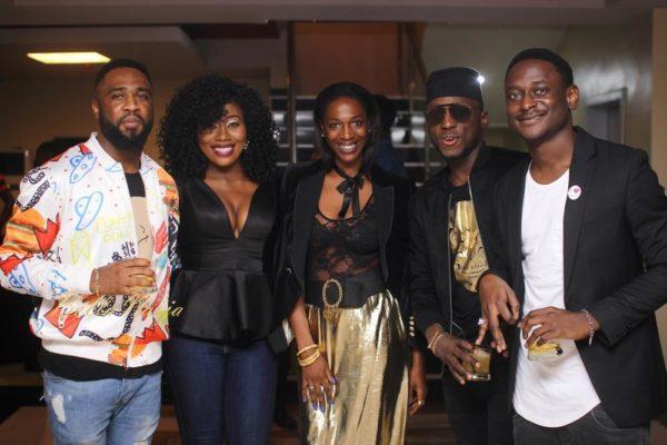 Praiz, Gbemi, Hauwa Mukan, DJ Spinall