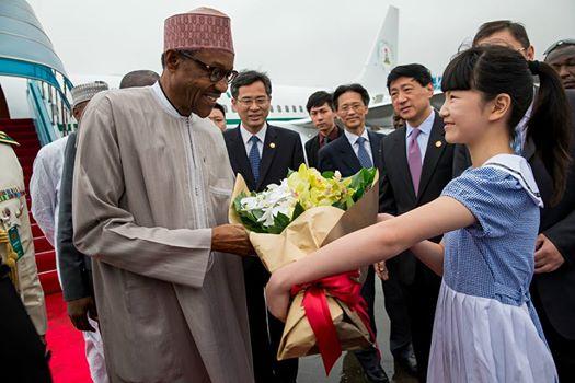 Pres Buhari in China