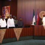 President Buhari and Nigeria Governor Forum in Aso Villa_April 2016 6