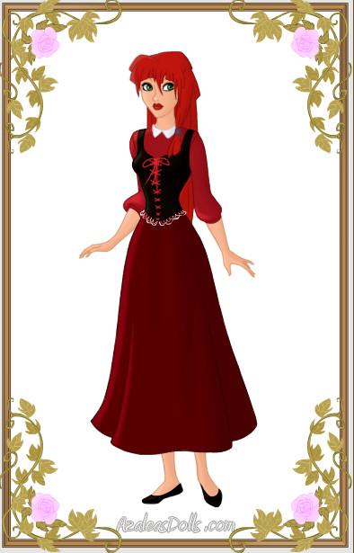 Rose Red I Illustrated by LadyBladeWarAgnel on Deviant Art