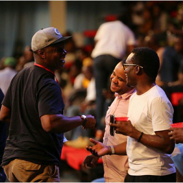 Sam Onyemelukwe,M.D of TRACE and Firiends