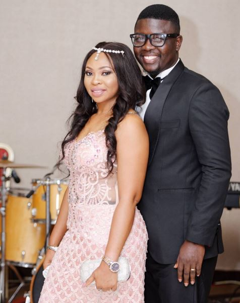 Seyi Law and wife 2