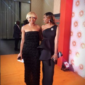 Sharon Ojong and Bolanle Olukanni