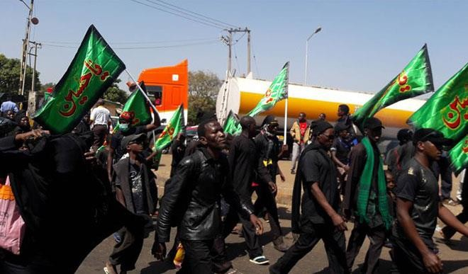 Shiites procession