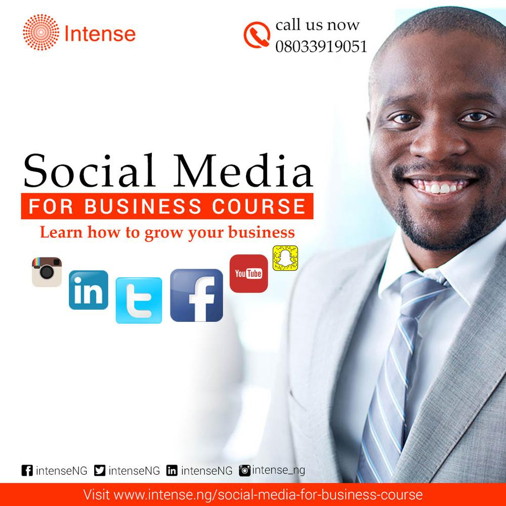 Social Media for Business Course - Intense Digital --