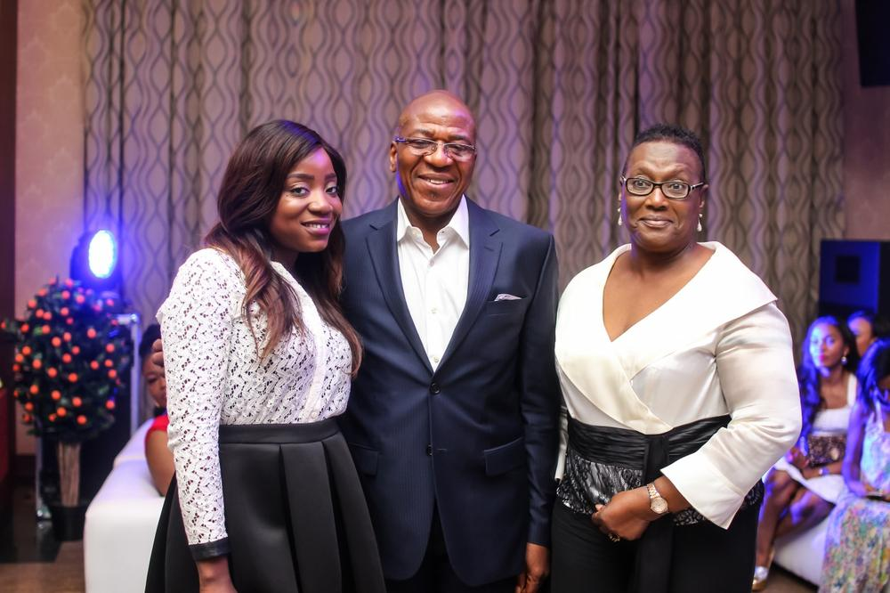 Soni Irabor with Funmi Abiola & Winnie Obanye