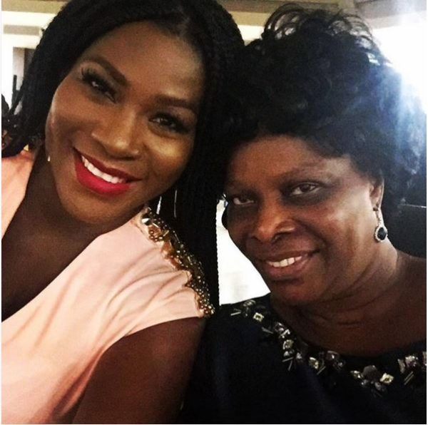 Stephanie Linus with Esther Lungu