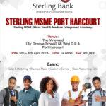 Sterling Bank - msme academy Newspaper
