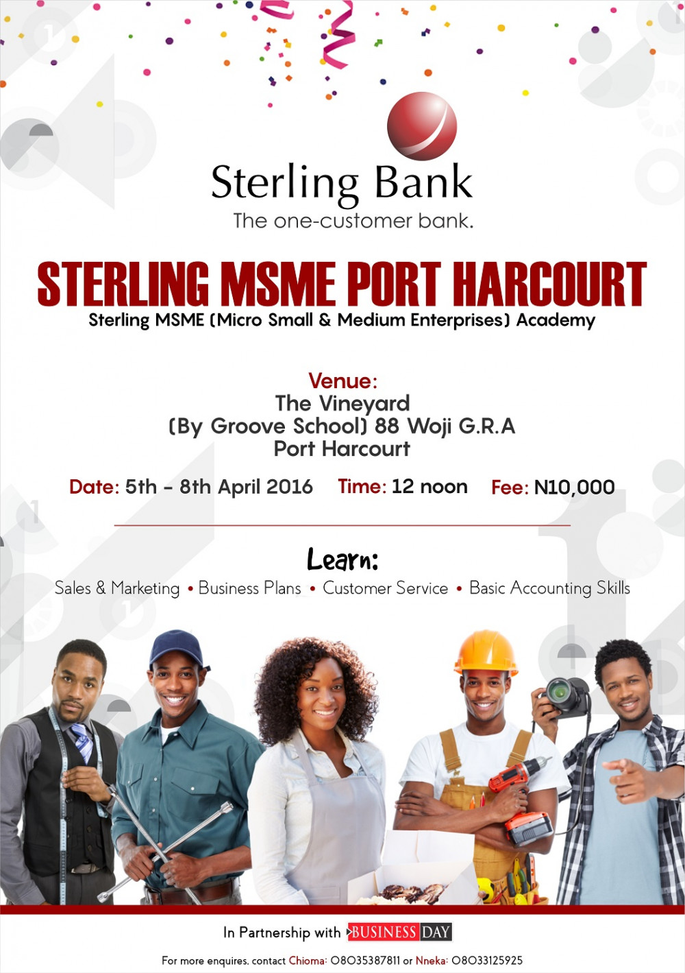 Sterling Bank - msme academy Newspaper