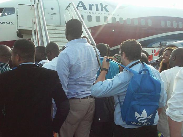Stranded Arik-Air-Passengers