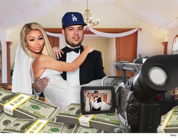 Rob Kardashian And Blac Chyna's Million Dollar TV Wedding