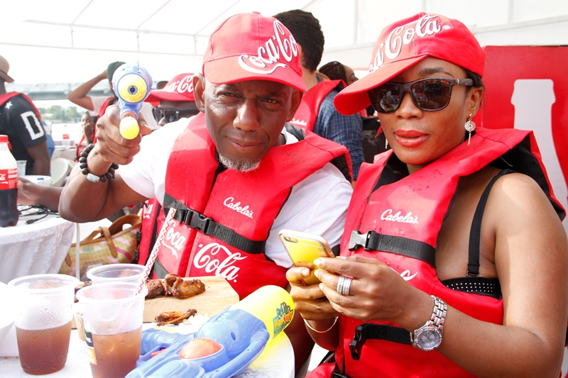 More VIPs at Coke Island