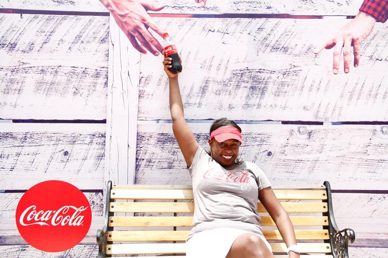 A VIP at Coke Island