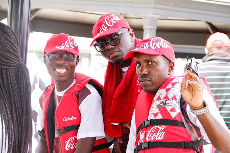 Members of the Coca-Cola Team
