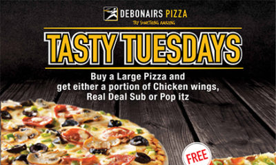 Grab Your Valentine S Gift Now Buy One Large Pizza Get The Same Free At Debonairs Pizza Bellanaija