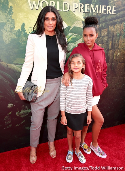 Rachel Roy and daughters Tallulah Ruth Dash and Ava Dash (R)